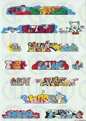 1904 - Decals Graffiti Decalbogen 1:160