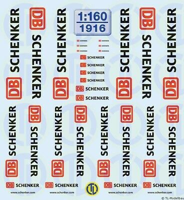 1916 - Decals DB Schenker 1:160