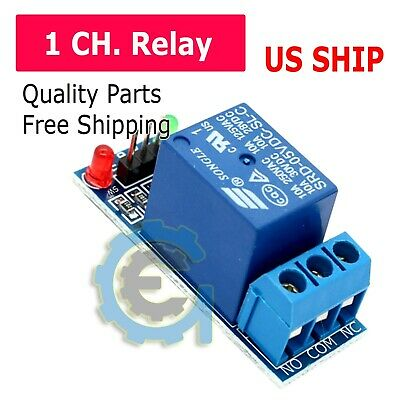 1 Channel DC 5V Relay Switch Module for Arduino Raspberry Pi PIC ARM