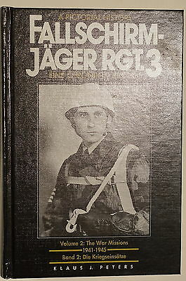 WW2 German Fallschirmjager Rgt.3 Pictorial History Vol.2 Missions Reference Book