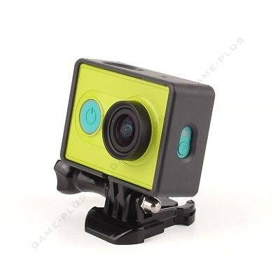 New Border Frame Mount Protective Housing Case For Xiaomi Yi Action Camera Black