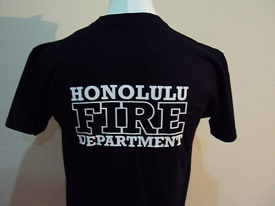 Honolulu Firefighter American T Shirt- Fire & Rescue Service - Ukfrs