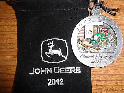 NEW John Deere 2012 7280R Tractor Pewter Ornament, No. 17 in Series PMDC02012