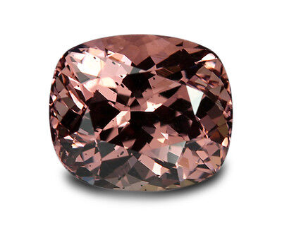 2.90 Carats Natural Malaya Garnet Loose Gemstone- Cushion