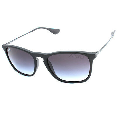 7a02f9f5a1 Ray ban chris black rubber grey gradient asian fit sunglasses picclick jpg  400x400 Ray ban chris