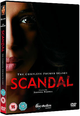 SCANDAL Complete Season Series 4 Collection Boxset NEW DVD