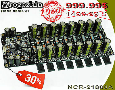 POWER AMPLIFIER BOARD HIGH-END STUDIO NCR-21800A Rogozhin Neoclassic 21 series