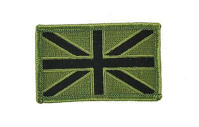 Patch ecusson brode thermocollant drapeau uk anglais royaume uni airsoft camo r2