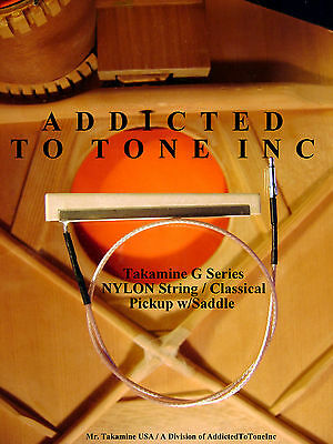 Takamine G Series CP-200T NYLON string  / CLASSICAL / Integrated Saddle Pickup
