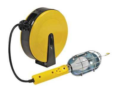 Bayco BAYCO Incandescent Extension Cord Reel with Hand Lamp, SL-840