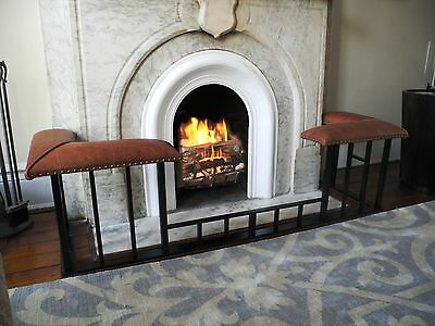 Fireplace Fender Seats