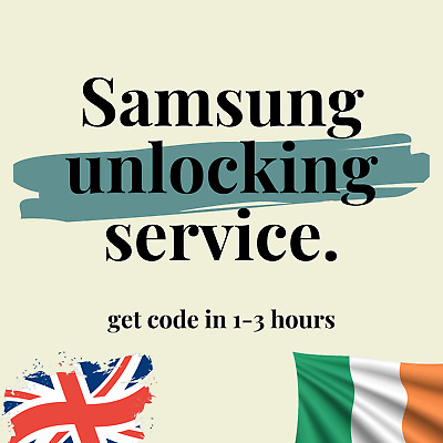 Unlock Code For Orange EE Tmobile Vodafone UK Samsung Galaxy S4 S5 S6 S7 Edge S8