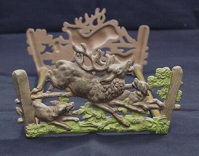 Borghese roman helmet bookends book ends vintage - Stag book ends ...