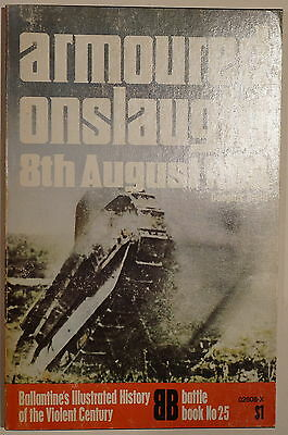 WW1 British Armoured Onslaught 8th August 1918 Ballantine Reference Book