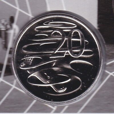 2015 20 Cent unc uncirculated Coin Australia 50th Anniversary coin ex Set