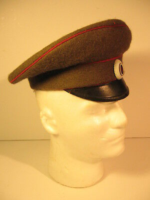 Original and Rare Bulgarian Army WWII NCO Officer Visor Hat Size 56