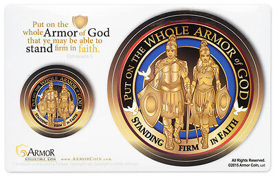 Armor of God Sticker Decal High Quality Indoor Outdoor w/ High Gloss Uv Laminate