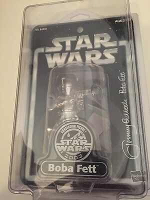 Star Wars 2003 Convention Exclusive Boba Fett Signed By Jeremy Bulloch