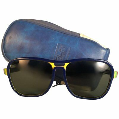 a8c628d562c Vintage Ray Ban Stateside Olympic Red Blue Yellow Green G15 Grey Black 80S  Us Bl