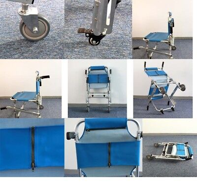 EMS Stair Chair Stretcher Rescue Evacuation Stairway Medical Aluminum Stretcher