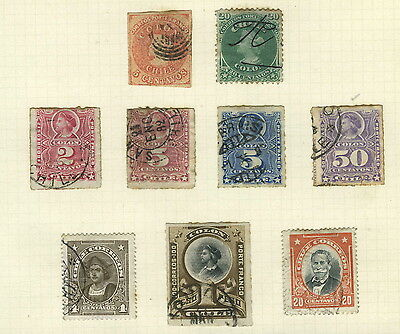 Postage Stamps ~ CHILE Americas ~ Early UNSORTED #2