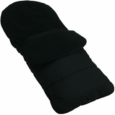 Footmuff / Cosy Toes Compatible with Jane Crosswalk Pushchair Black Jack