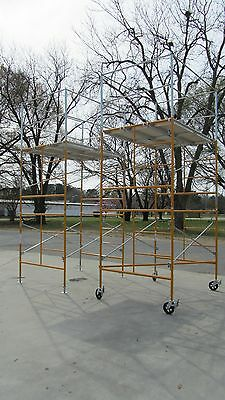 11' Rolling Tower w/ Budget Safety Rails