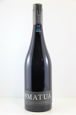 Matua Single Vineyard Merlot Malbec 2013 Red Wine, Hawkes Bay
