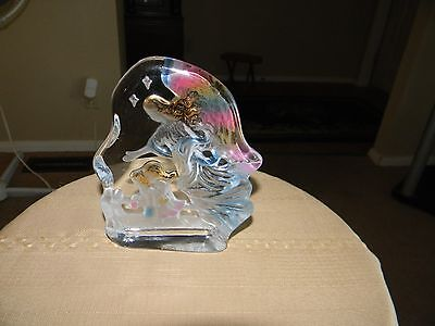 guardian angel paper weight  6 x 4 1/2 inch