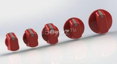 Universal Oven Cooktop Red Knob x 1, Ask Us For All Appliance Spare Parts