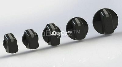Universal Oven Cooktop Black Knob x 1,  Ask Us For All Appliance Spare Parts