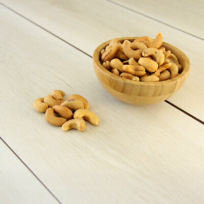 Delicious Dry Oven Roasted Salted Cashews 500g Healthy and Nutritious