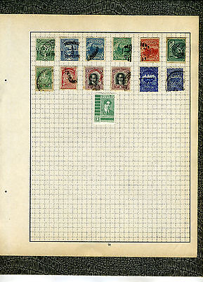 Postage Stamps ~ URUGUAY South America ~ Early UNSORTED #5