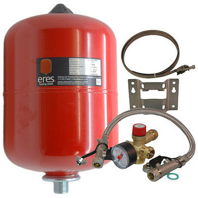 Altecnic Heating Expansion Vessel 8, 12, 18, 24 Litre Sealed System Kit/EasiFit