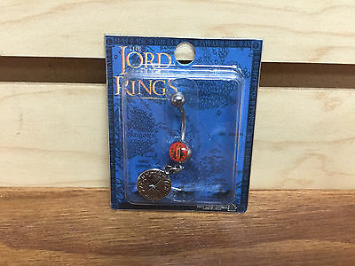 * Brand New * LOTR Lord of the Rings 14 gauge steel Belly Button Navel Piercing