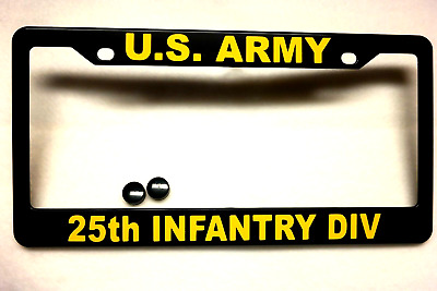 SIGNAL CORPS-Chrome #811031 License Plate Frame-US ARMY