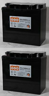 2 Pack - Pride BATLIQ1018 12V 55Ah Sealed AGM Battery Group 22NF FAST SHIPPING