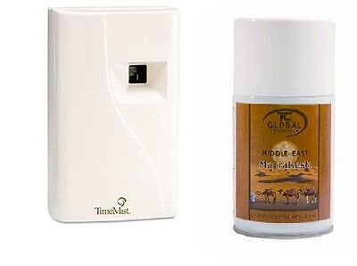 Value Bundle TimeMist Automatic Metered  Freshener with Marrakesh Refill