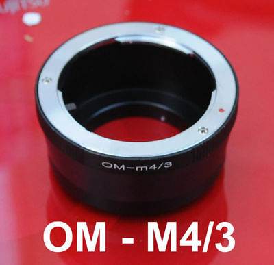 Olympus OM lens to Micro M 4/3 M4/3 Adapter BlackMagic Design MFT Mount Camera