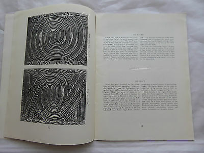 Maori Carving W J Phillips Dominion Museum Artifact Reference Book LAYBY