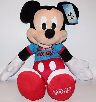 """Disney MiCKEY Mouse 22"""" Plush Stuffed Toy Doll Toys R Us Exclusive 2015 NWT"""