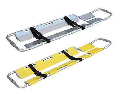 Medical Emergency Aluminum Alloy Adjustable Scoop Stretcher Equipment First Aid
