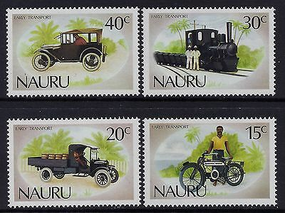 1986 Nauru Early Transport Set Of 4 Fine Mint Mnh/muh
