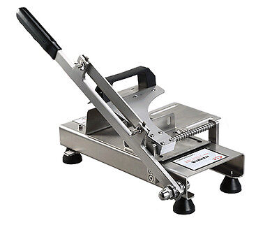 Stainless Steel Manual Frozen Meat Slicer Handle Meat Cutting Machine
