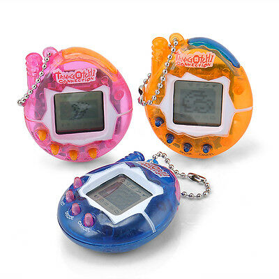New 90S Nostalgic Tiny Tamagotchi 49 Pets in One Virtual Cyber Pet Toy Kids 1pc