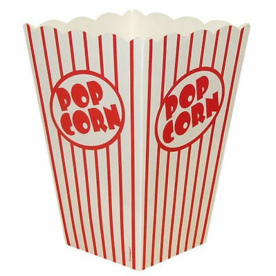10 Large Popcorn Boxes - Gift Party/Loot/Wedding Cinema Empty Pop Corn