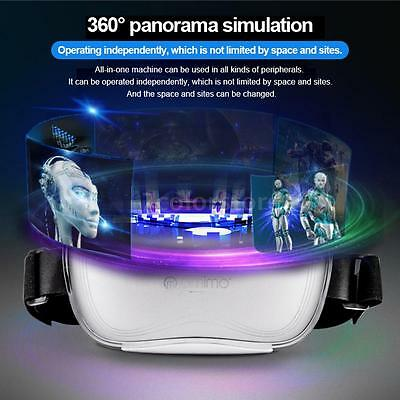 Smart Octa Core 2GHz Andriod 4.4 3D VR Glasses Virtual Reality Headset Box 1080P