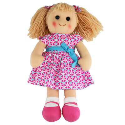 "Hopscotch Rag Doll MILA 14""/35cm cloth soft toy doll NEW"