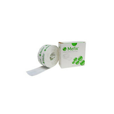 NEW Fixation Tape Mefix 2.5cm x 10m Roll White First Aid Accessories