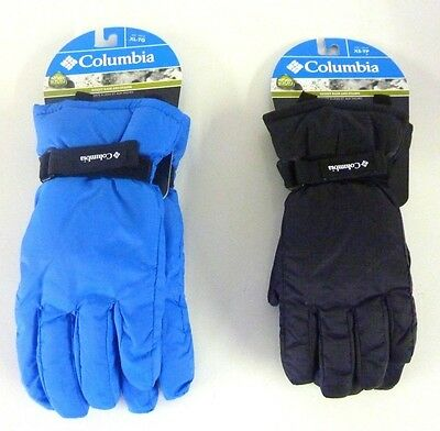 Columbia Sportswear Core Ski Gloves,  Black Or Blue, Youth Size, Many Sizes